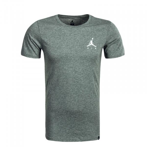 Herren T-Shirt Jumpmann Air Emb. Grey White