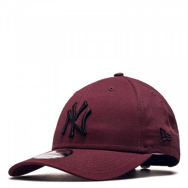 Cap 9Forty NY Bordeaux Black