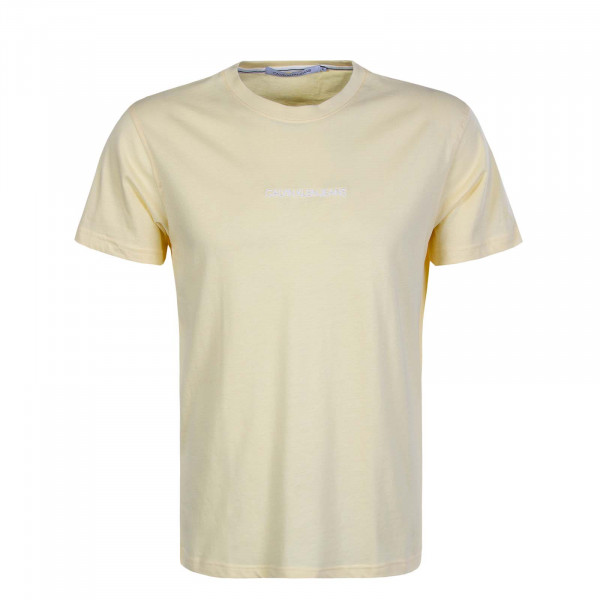 Herren T-Shirt 5186  Instit Chest Logo Yellow