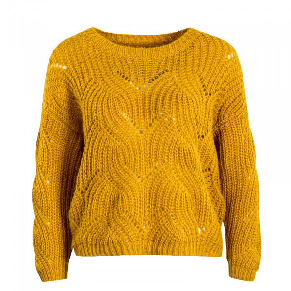 Damen Knit Havana Golden Yellow