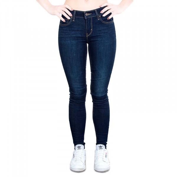 Damenhose 710 Skinny Wandering Mind Blue