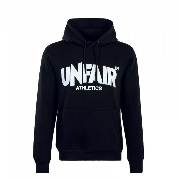 Unfair Hoody 075 Classic Label Black Wht