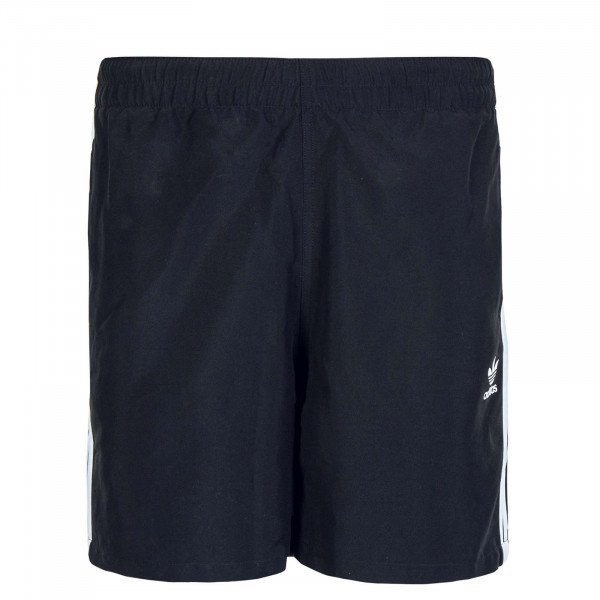 Herren Short 3Stripe Swims Black