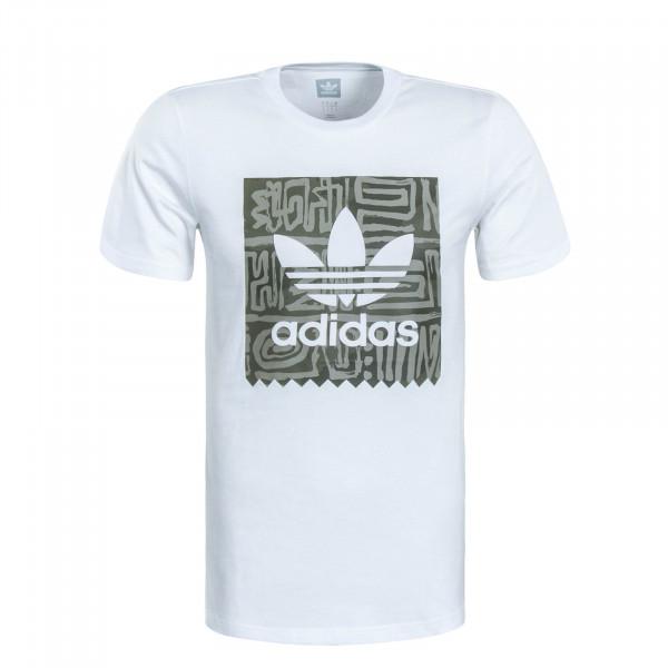 Herren T-Shirt Dakari White Green