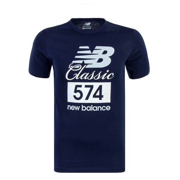 New Balance TS Classic 574 Navy White