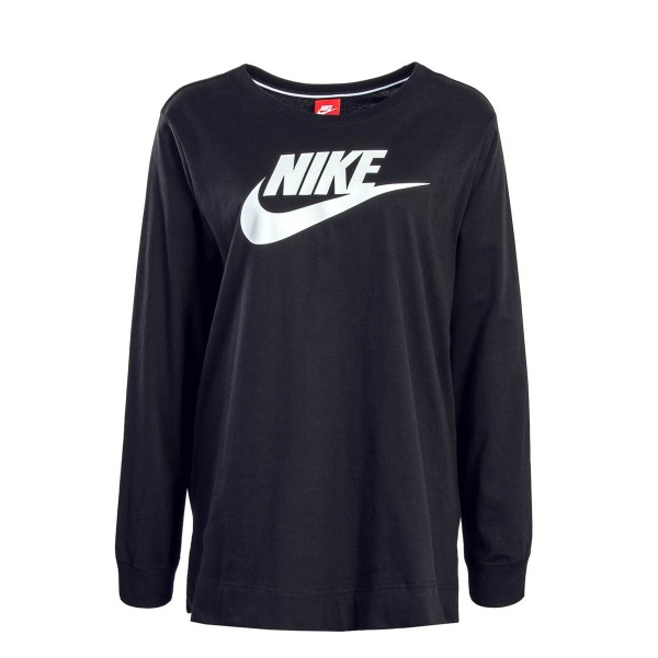 Nike Wmn LS HBR EXT Black White