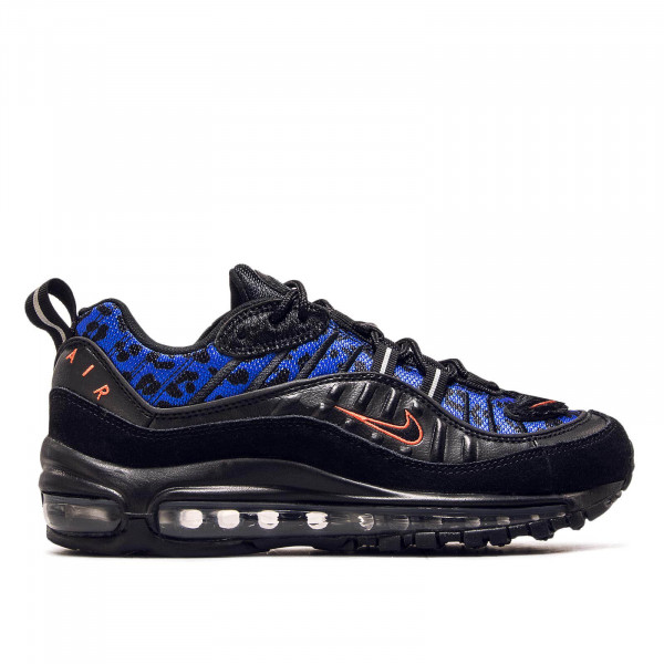 Damen Sneaker Air Max 98 Black Royal Red