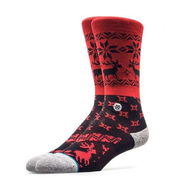 Stance Socks Blitzn Red Black
