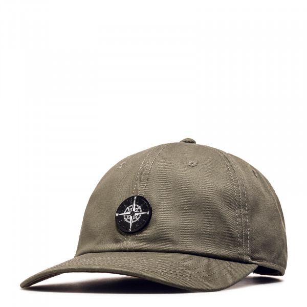 C&S Cap CL Navigating Curved olive brown