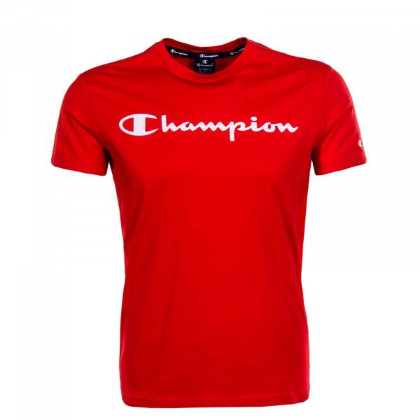 Herren T-Shirt 4142 Red White