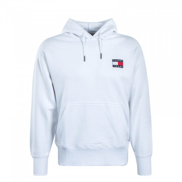 Herren Hoody 6593 Badge White