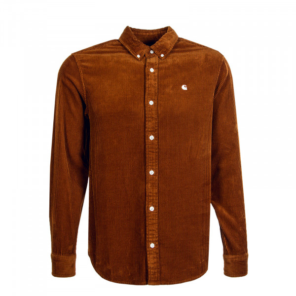 Herren Hemd Madison Cord Brandy