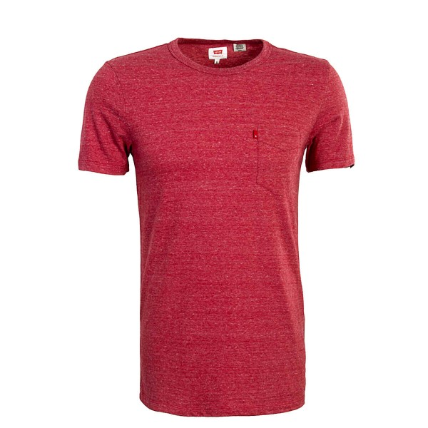 Levis TS Sunset Pocket Tomato Red
