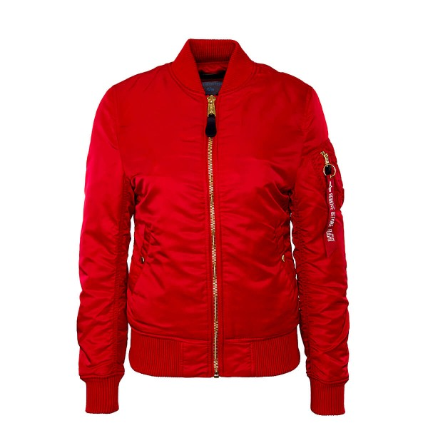 Alpha Wmn Jkt Ma 1 VF Speed Red