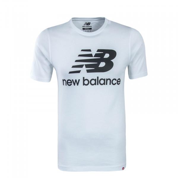 Herren T-Shirt MT83530 White Black