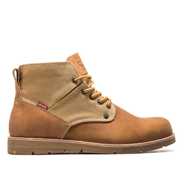 Levis Boots Jax Lt Brown Yellow
