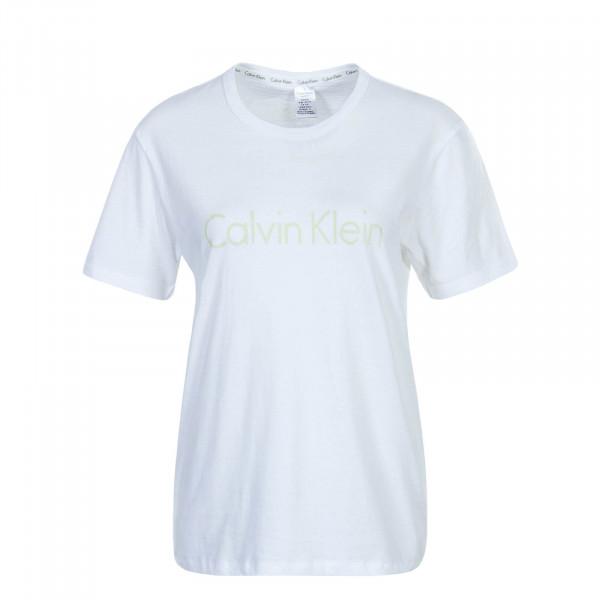 Damen T-Shirt Crew 6105 White Green