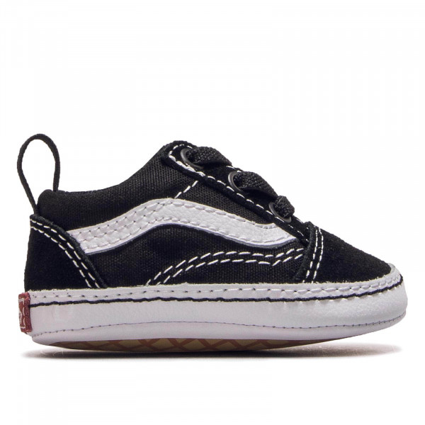 Vans Kids Old Skool Crib Black White
