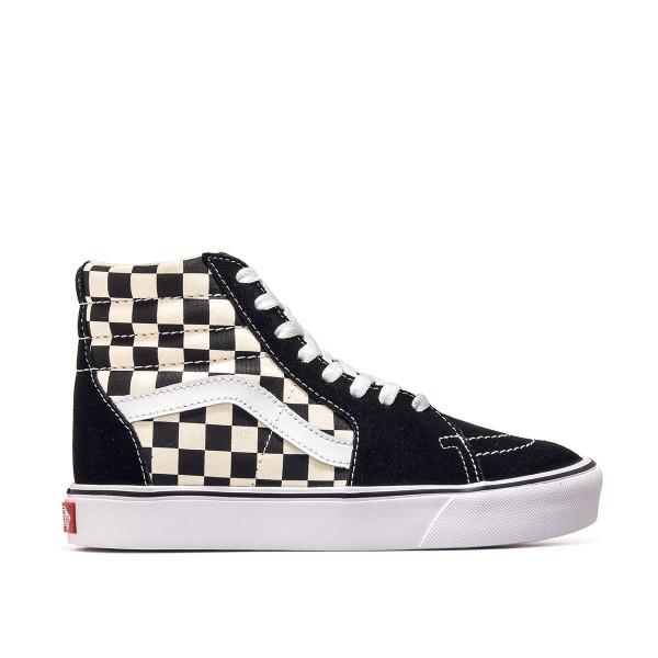 Vans U SK8 Hi Lite Checkerboard Black