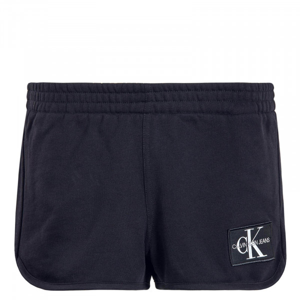 Damen Short Monogram Badge Black