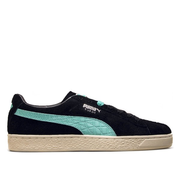 Puma Suede Diamond Black Mint