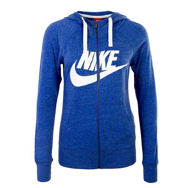 Nike Wmn Sweatjkt NSW GYM Dark Blue