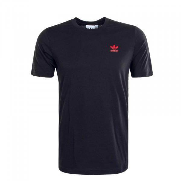 Herren T-Shirt Essential Black Scarlet