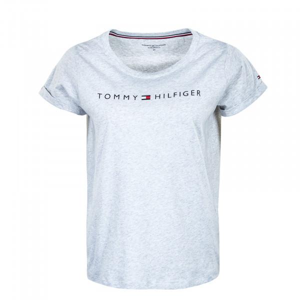 Damen T-Shirt - 1618 Logo - Ice Grey Heather