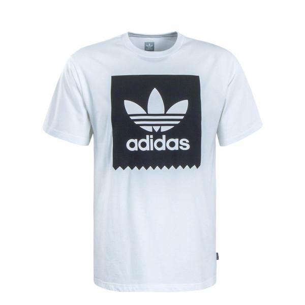 Herren T-Shirt 7363 Solid White Black
