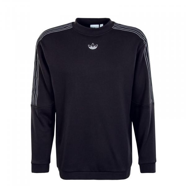 Herren Sweatshirt - Sport Crew 2442 - Black