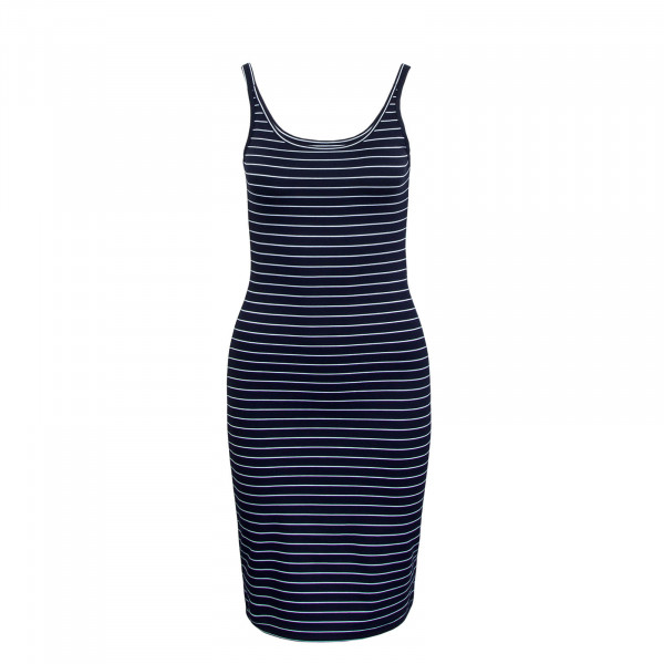 Dress Bodycon Navy White