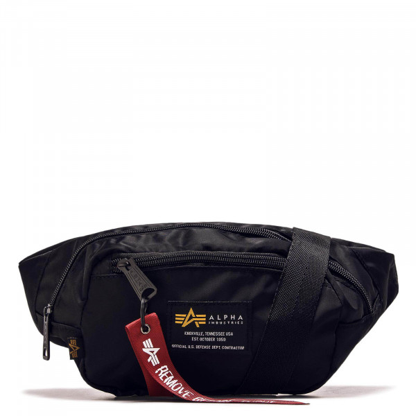 Alpha Hip Bag Crew Black