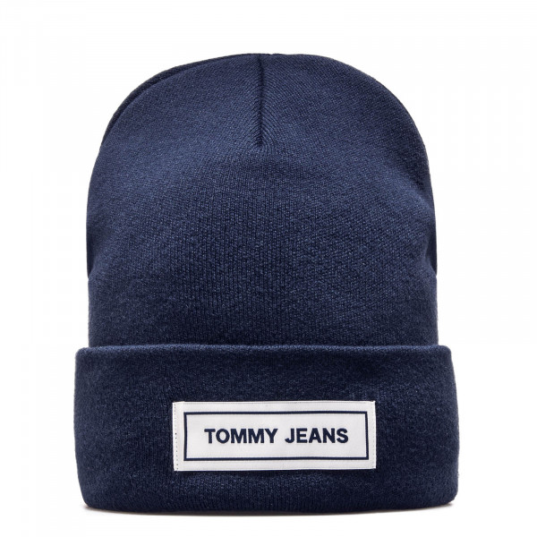 Tommy Beanie TJU Tape Navy White