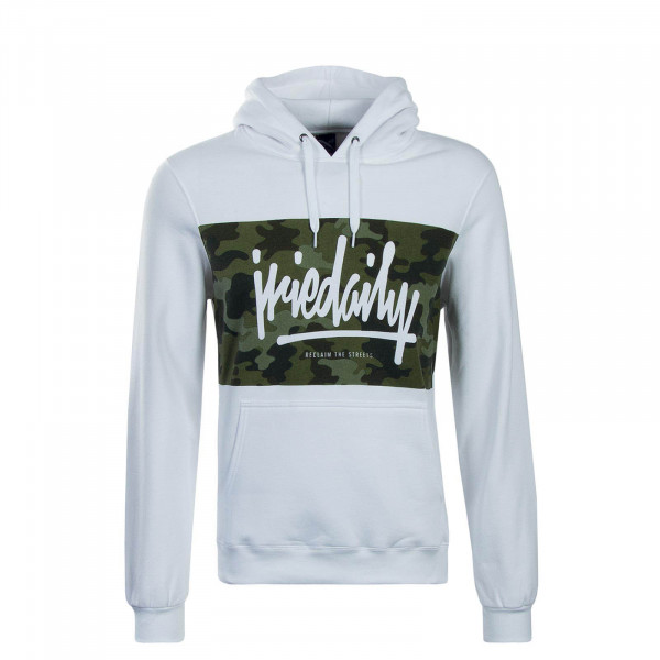 Iriedaily Hoody Tagg White Olive