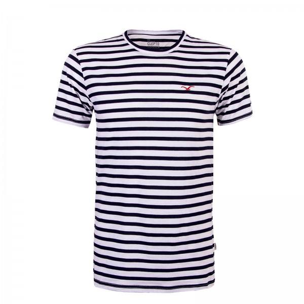 Clepto TS Classic Stripe White