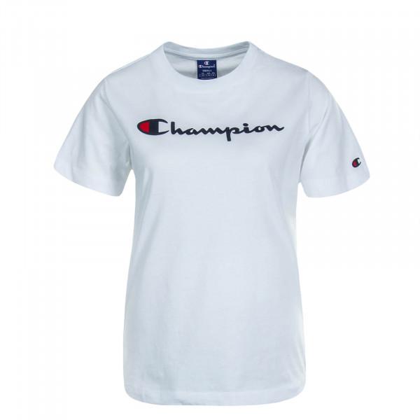 Damen T-Shirt Crewneck White