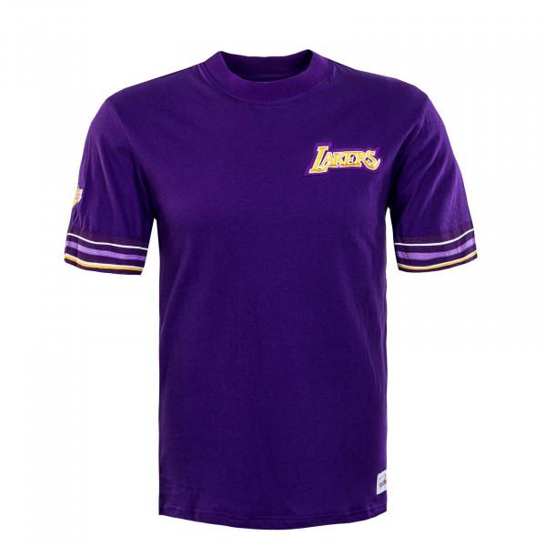 Herren T-Shirt - Final Seconds L A Lakers - Purple