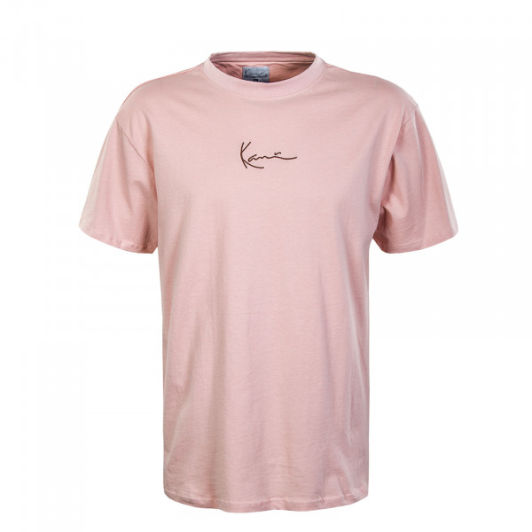 Herren T-Shirt - Small Signature - Rose