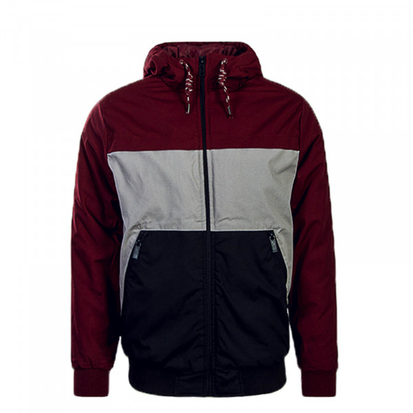 Stitch & Soul Jkt 427 Bordo Grey