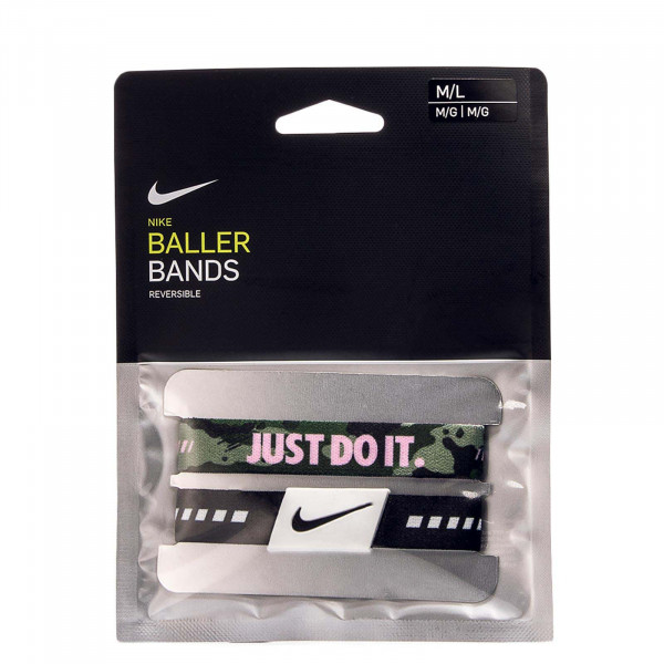 Nike ACC Baller Bands Black Green Camo