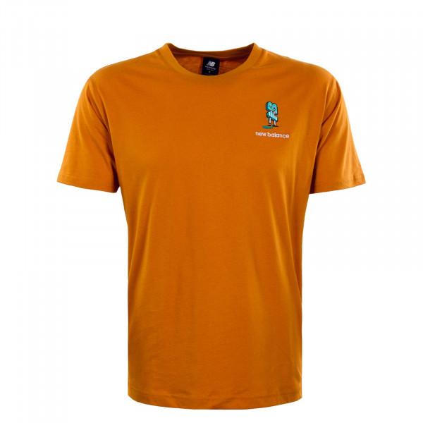 Herren T-Shirt - Ath Minmz - Orange