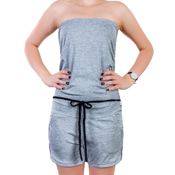 Authentic Wmn Playsuit  91K Light Grey
