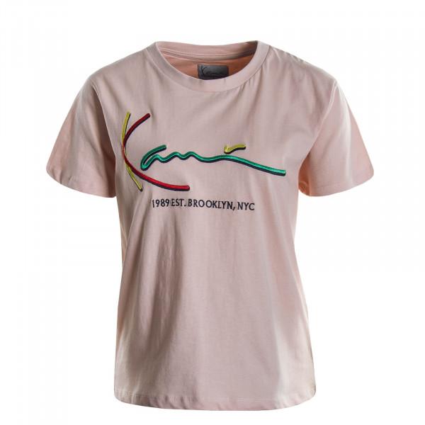 Damen T-Shirt Signature Rosa