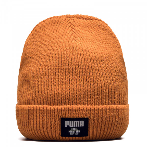 Beanie Ribbed Classic Jaffa Orange