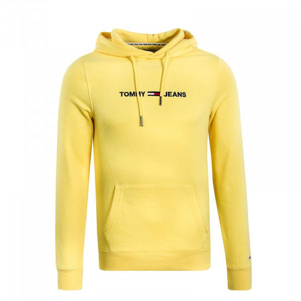 Herren Hoody Straight Logo Aspen Gold