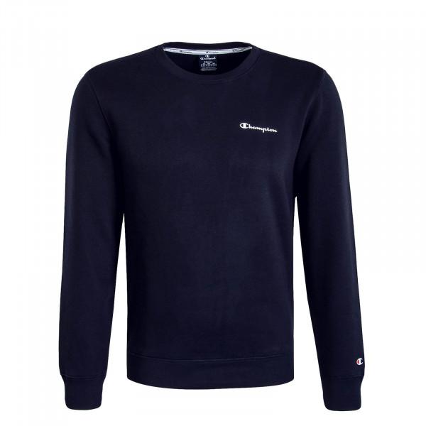 Herren Sweatshirt 213484 Navy White