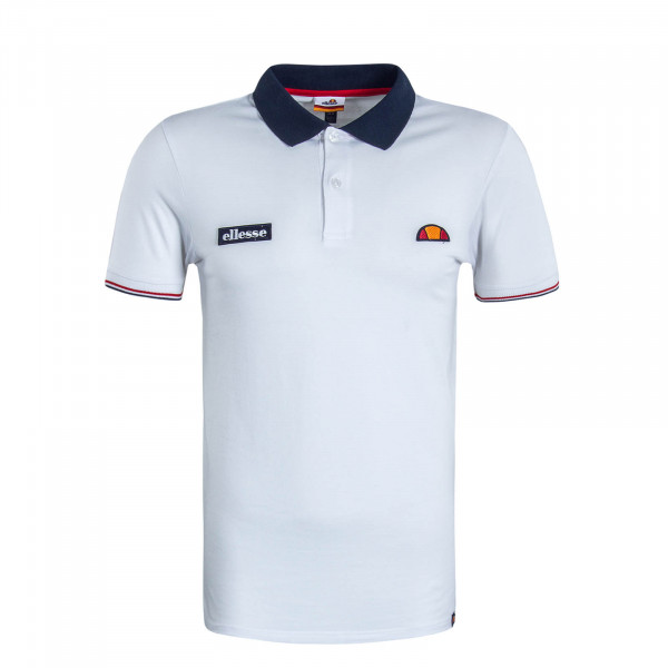 Poloshirt Limentra White Navy