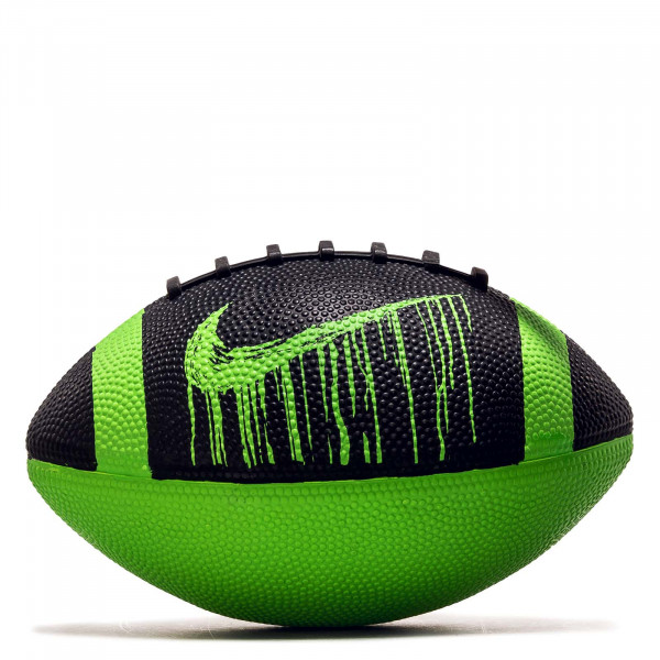 Rugbyball  Mini Spin 4.0 FB Black Electric Green