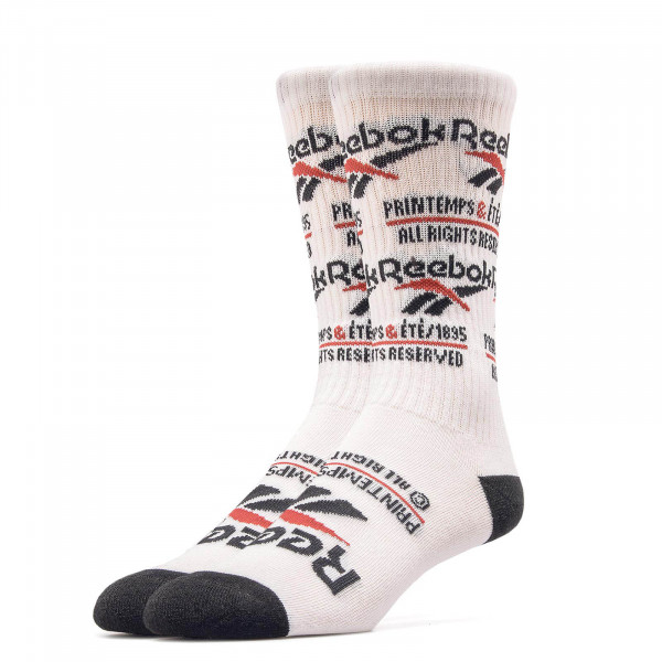 Reebok Socks CL Printemp Ete Cre White