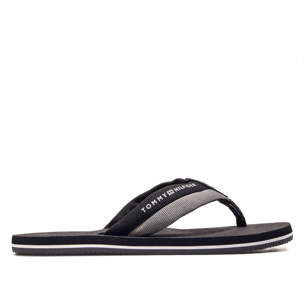 Herren Slide Embossed Black